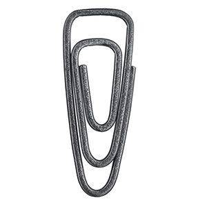 Paperclip brooch